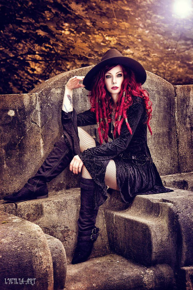 autumn witch by Drastique-Plastique.deviantart.com on @DeviantArt