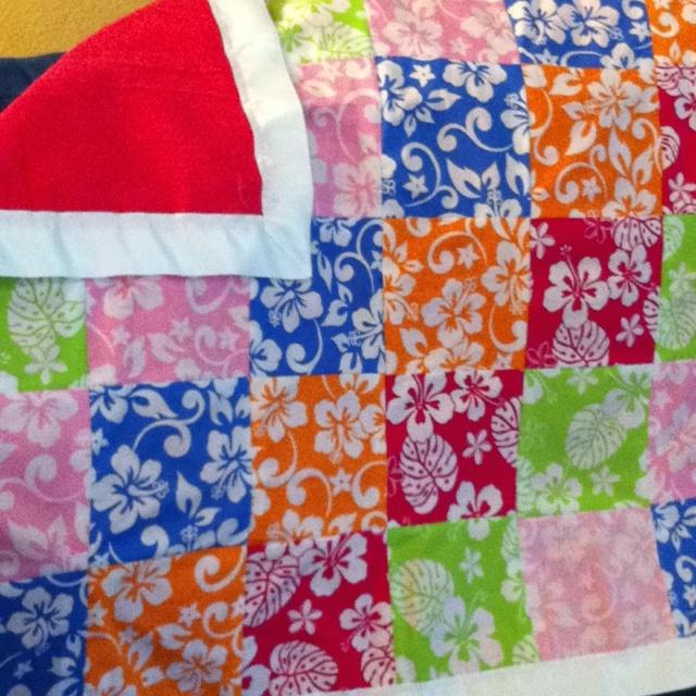 Baby Blanket Hawaiian Style Zoe Vera Shannon Pinterest Babies