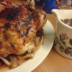 Resep Ayam Kalkun Panggang Bumbu Lada Spesial Natal Resep Ayam Kalkun Panggang Bumbu Lada Resep Ayam Panggang Dengan Gravy Saus Coklat