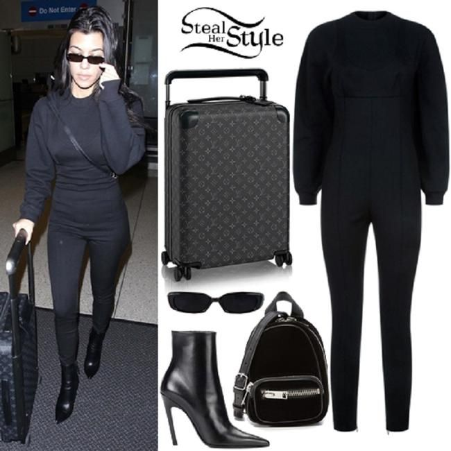 Alexander Wang Black Skinny Sweatshirt Seen On Kourtney K Romper/Jumpsuit Size 4 (S). Free shipping and guaranteed authenticity on Alexander Wang Black Skinny Sweatshirt Seen On Kourtney K Romper/Jumpsuit Size 4 (S)For sale is ALEXANDER WANG Skinny Sweatshirt Jumps...