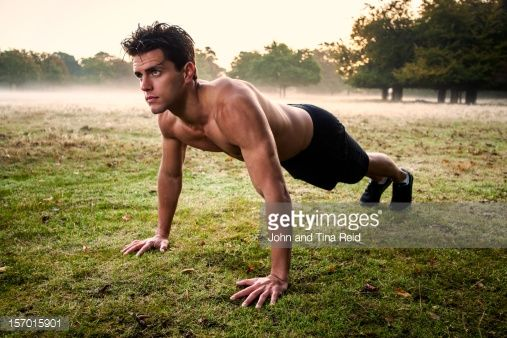 Stock Photo : Morning Workout