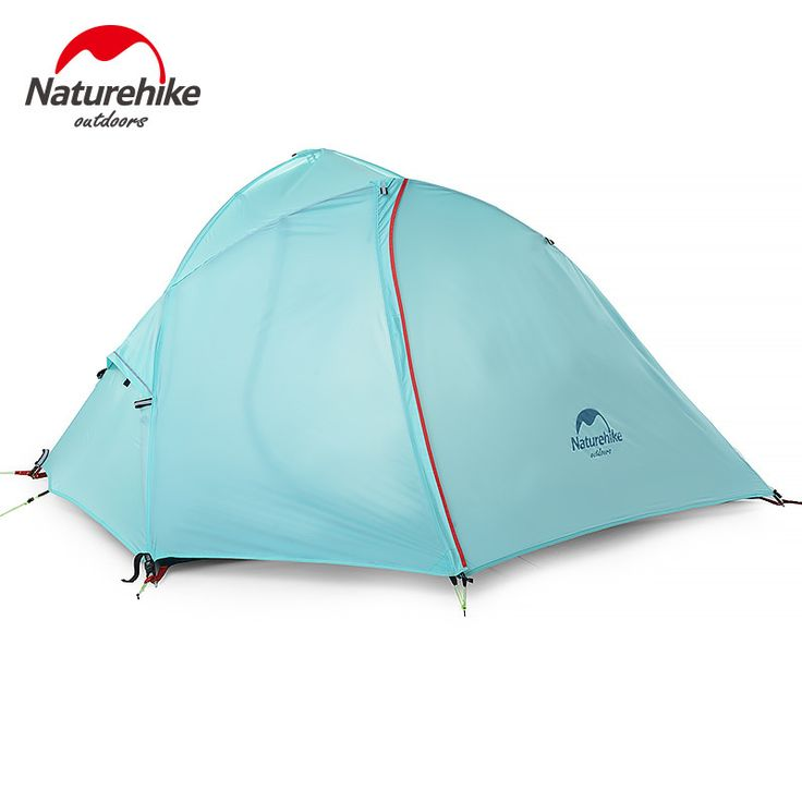 Naturehike 1-2 Person Outdoor Double Layer Tent Camping Windproof Waterproof Tent NH16S012-S/NH16S013-S
