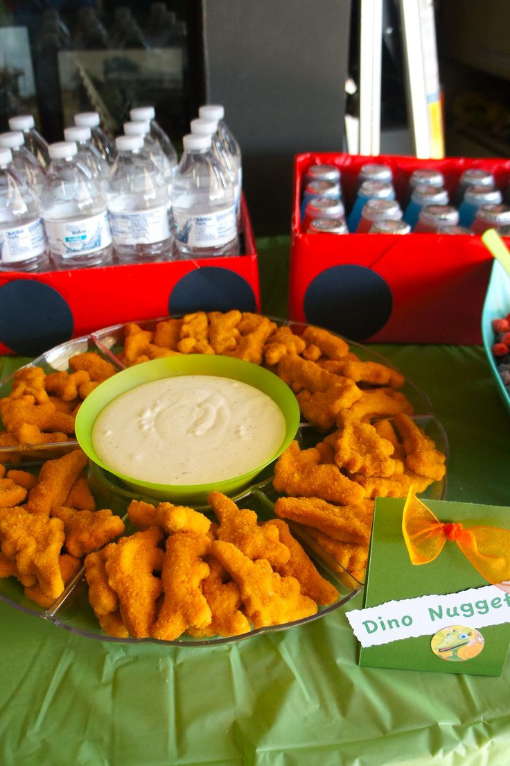 Dinosaur Train Birthday Party Food