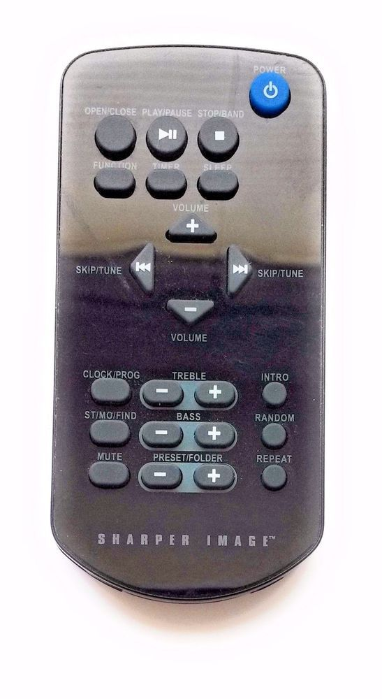 Details About Sharper Image Remote Control For Audioclear So335 Cd