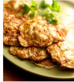 Zucchini Pancakes! breakfast recipe