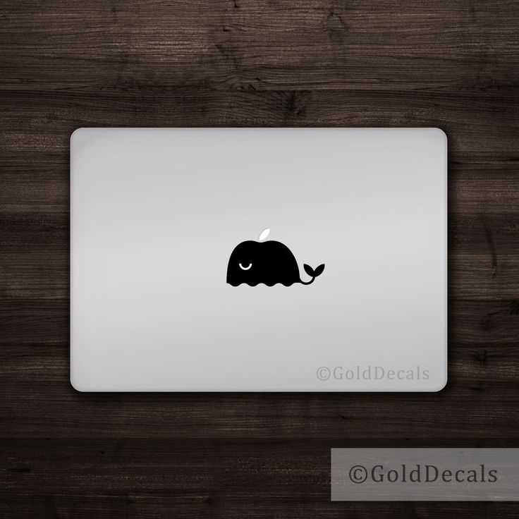 Fits all Macbooks including the Macbook Pro, Macbook Air, and old Macbooks. To apply the decal, clean the surface, remove the paper backing, place the decal, thoroughly flatten the decal with a squeegee or similar object like a credit card. | eBay!