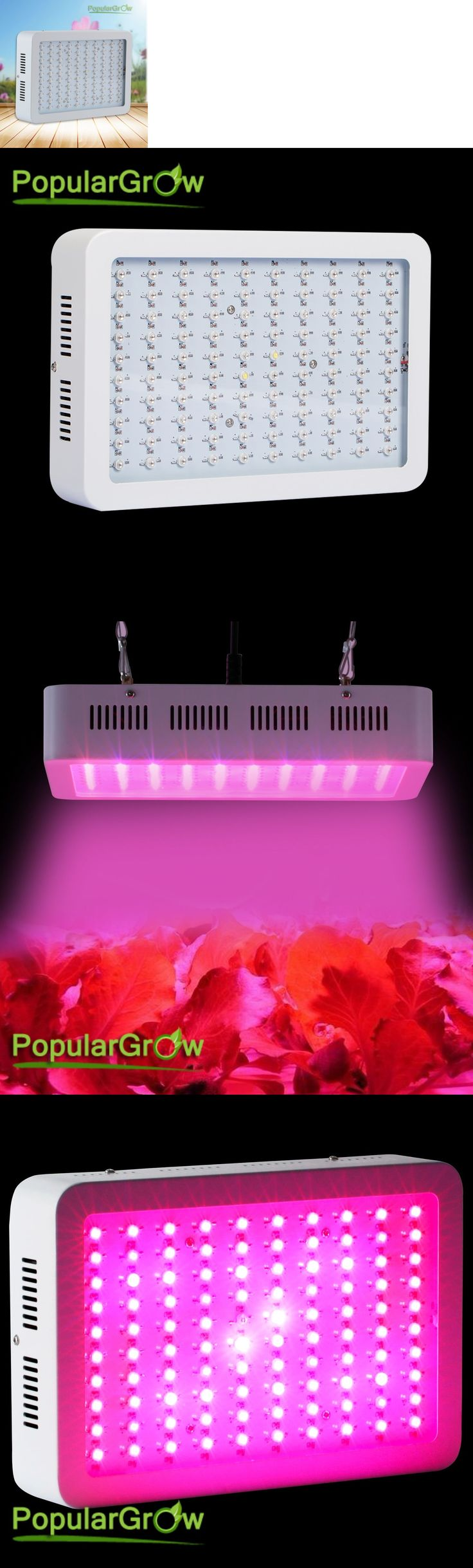 Grow Light Bulbs 178988: Populargrow 300W Led Grow Lights 9 Bands Commercial Vegandplant Hydroponics System -> BUY IT NOW ONLY: $65 on eBay!