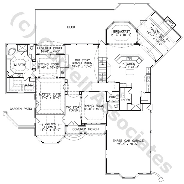 1st floor plan craftsman style house plans one story for Craftsman house plans first floor master