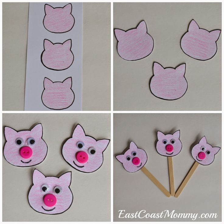 {Number THREE}... The Three Little Pigs
