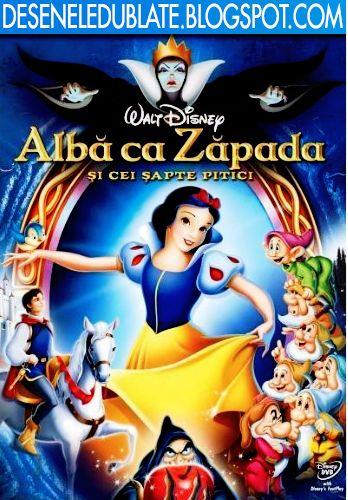 Albă ca Zăpada şi cei şapte pitici (1937) dublat în română - Desene Animate Dublate si Subtitrate in Romana 2014-2015