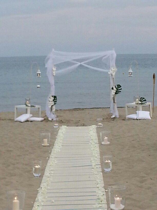 Arma di Taggia. ..Matrimonio in spiaggia. ...by Boscodirovo. ...