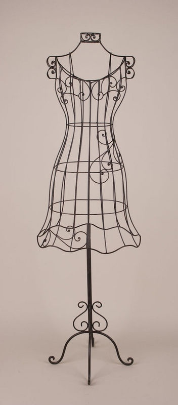 17 Images About Metal Wire Dress Forms On Pinterest