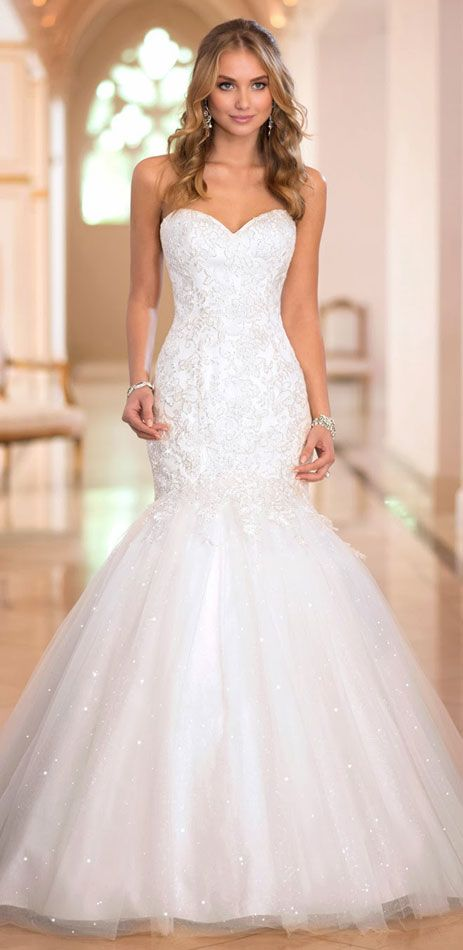 Best 25 mermaid wedding dresses ideas on pinterest for How much do stella york wedding dresses cost