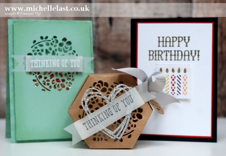 Technique Class using Window Box Thinlits from Stampin' Up! - with Michelle Last