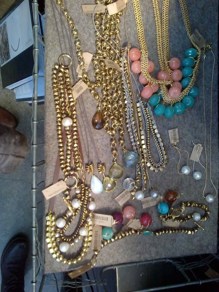 assorted jewelry. NYC.