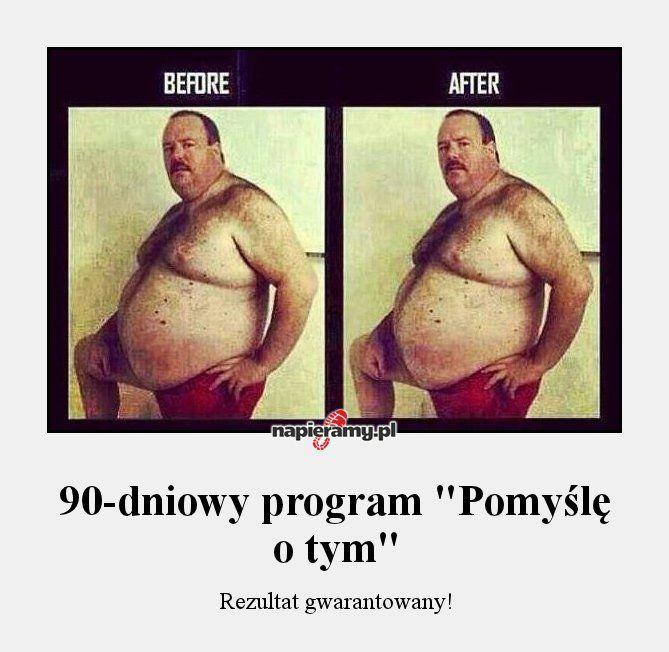"""90-dniowy program """"pomyślę o tym"""""""
