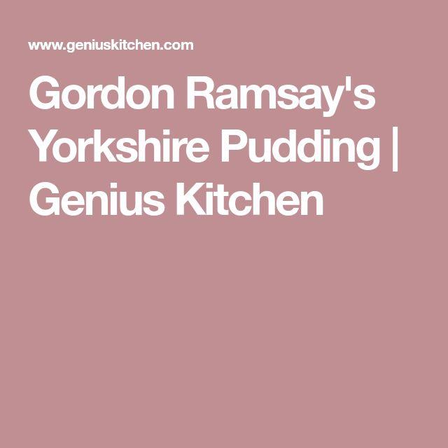 Gordon Ramsay's Yorkshire Pudding | Genius Kitchen