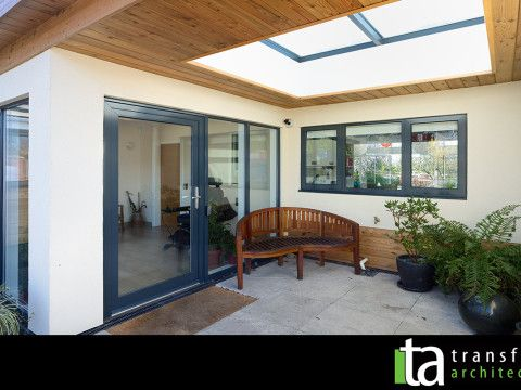 Eco Bungalow With External Glazed Rooflight Porch. Extension GoogleExtension  IdeasGarage ... Part 69