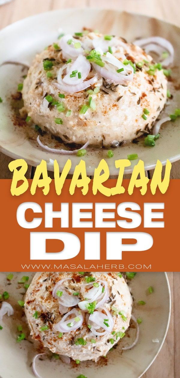 Obatzda Recipe – Bavarian Cheese Dip, Oktoberfest, Fall harvest festival, summer…
