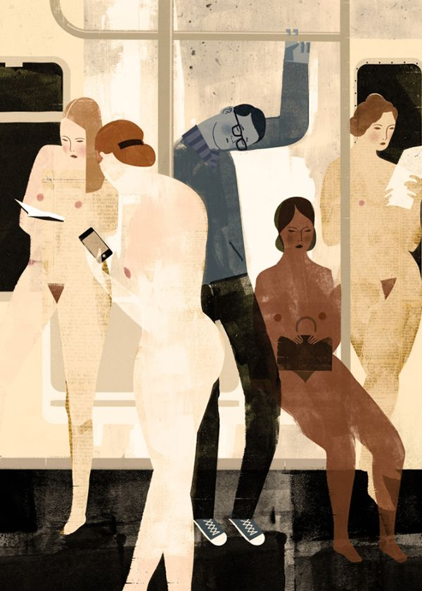 Interesting interview with Keith Negley. http://apeonthemoon.com/2013/01/31/keith-negleys-concept-driven-illustrations-in-mixed-media/
