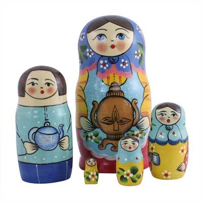 "Traditional Matryoshka ""Samovar""    FromRussia.comMatryoshka Samovar, Neat Nests, Crafts Ideas, Matryoshka Momma, Vicious Dolls, Matrioska Style, Nests Dolls, Matryoshka Nests, Matryoshka Dolls"