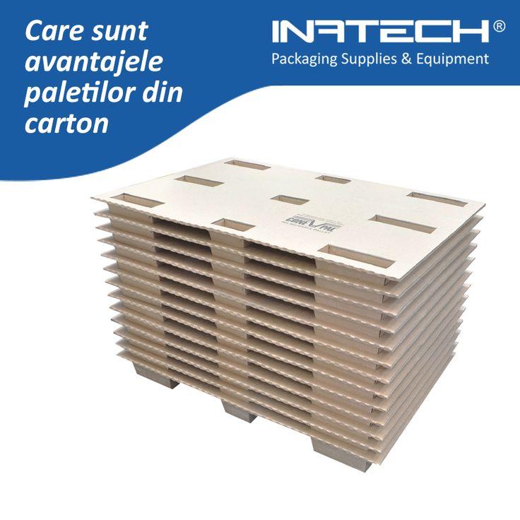 Care sunt avantajele paletilor din carton