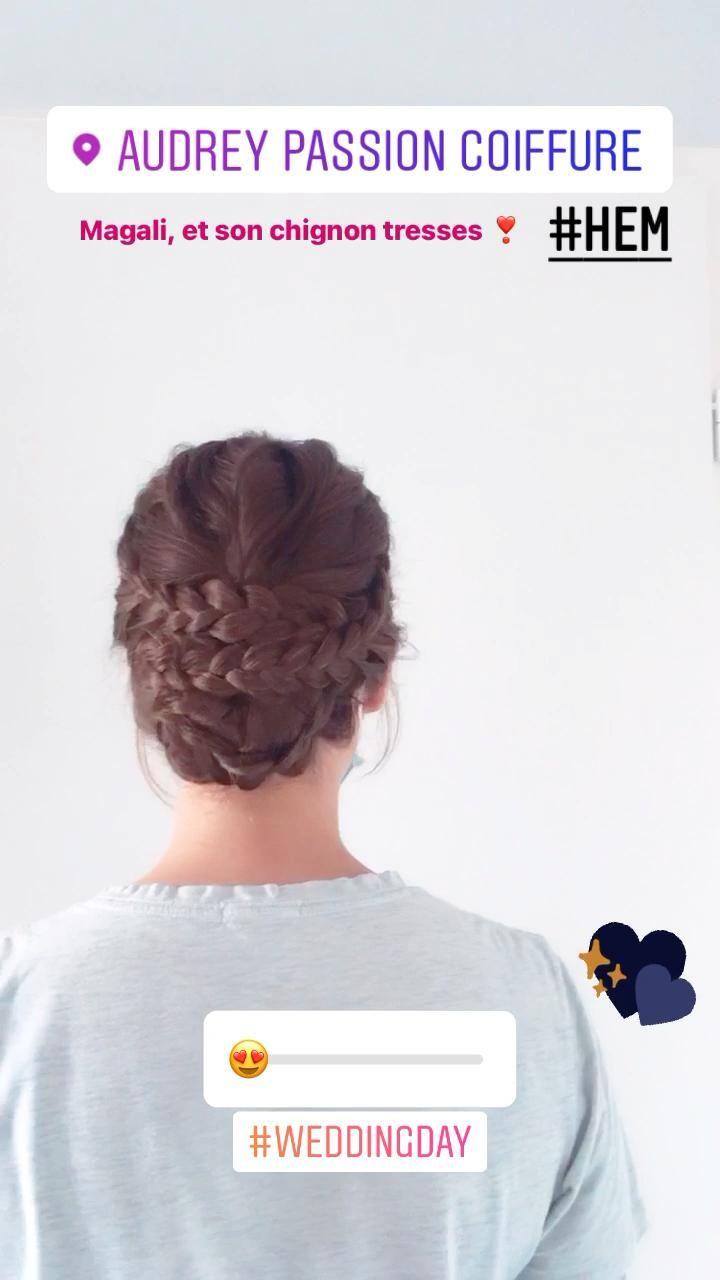 Wedding Hair Video Coiffure Mariage Coiffure Mariee Cintres De Demoiselle D Honneur