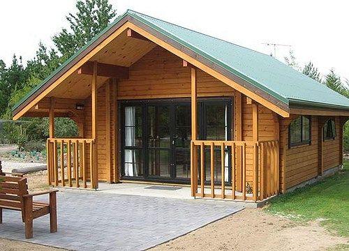 M s de 1000 ideas sobre caba as peque as en pinterest - Casas de madera pequenas ...