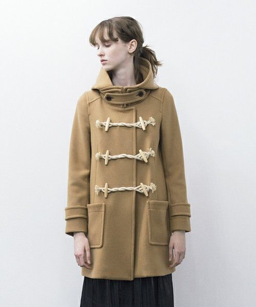 pesca melton duffle coat