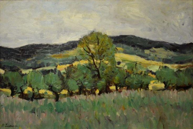 Stefan Luchian - În Valea Hânganilor  (ulei/pânză) - Muzeul de Artă Iași