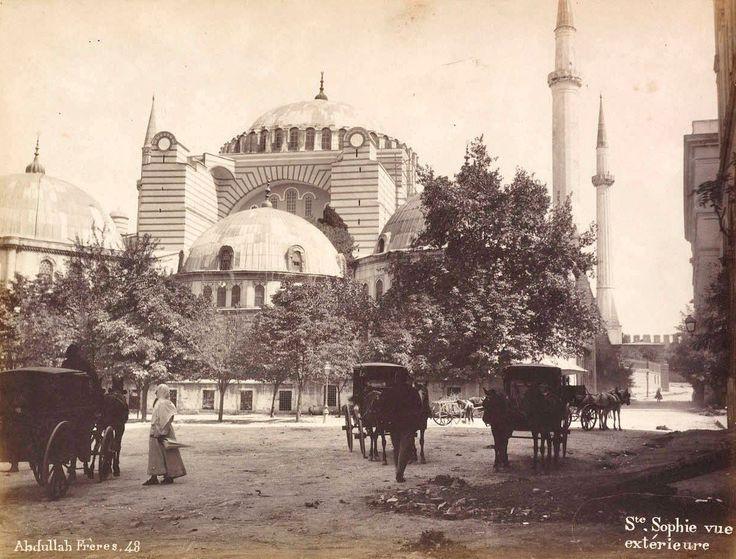 Ayasofya-Hagia Sophia-Abdullah Fréres