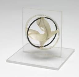 Naum Gabo 'Model for 'Monument to the Astronauts'', c.1966–8 The Work of Naum Gabo © Nina & Graham Williams/Tate, London 2014