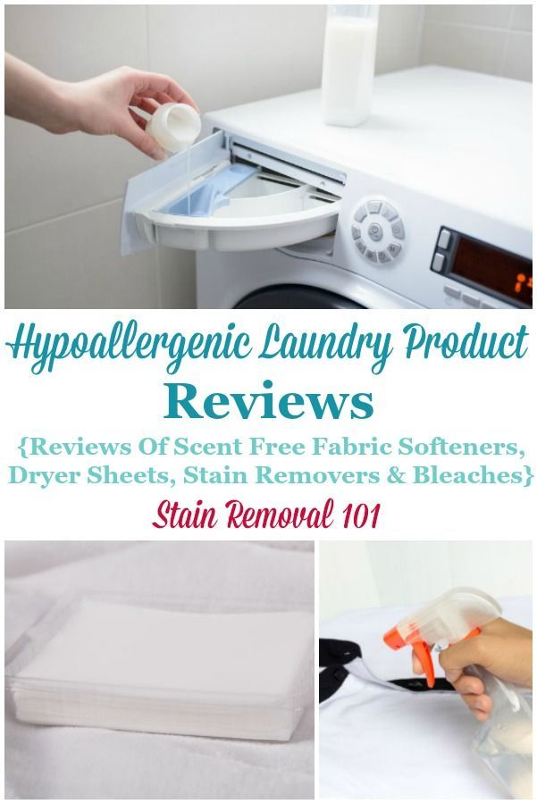 Hypoallergenic Fabric Softener Dryer Sheets Other Laundry