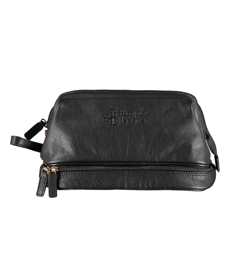 More 'Brooklyn Brawler' than 'Downtown Suit' or 'GI Joe', 'Frank the Dopp' is Triumph & Disaster's take on the classic toiletries bag. | huntingforgeorge.com