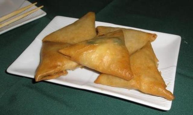 Comida China - Empanadas de camarón mandarín