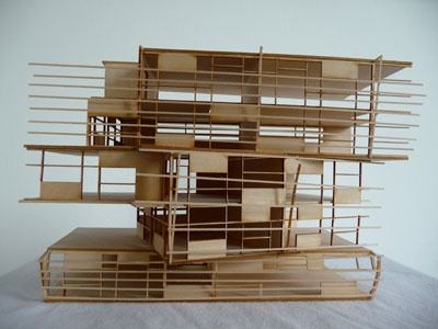 Lasercut Architectural Models @ Surface Grooves