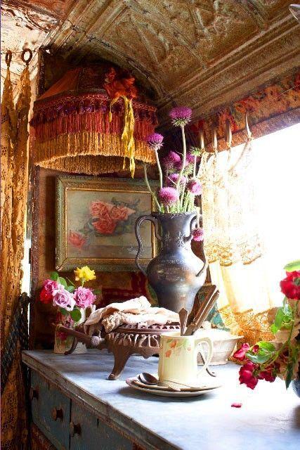 Gypsy Decor Style Tips And Pics: Gypsy Bohemian Style