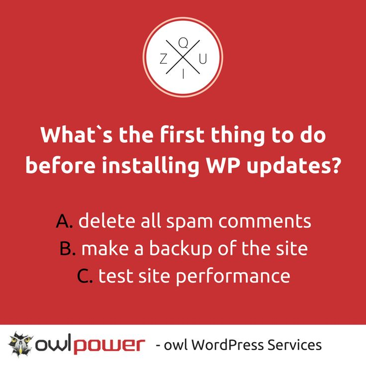 How well do you know WordPress? Test your skills or just skip it and let us take professional care of your website. https://owlpower.eu/