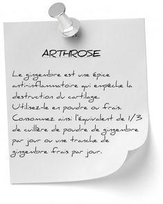 Comment utiliser des remèdes naturels pour soigner l'arthrose et les douleurs qui l'accompagnent ? Des recettes et astuces efficaces contre l'arthrose.