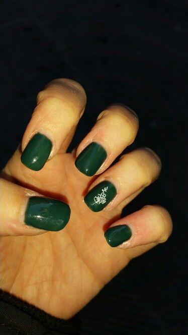 Gel verde militare con stamp