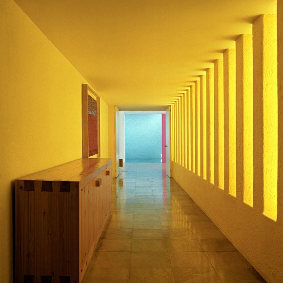 Luis Barragan, Casa Gilardi, Mexico City by Kim Zwarts