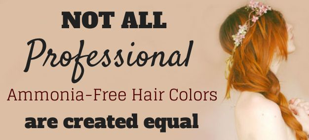 Not All Ammonia Free Hair Colour Brands Are Created Equal #ammoniafree #haircolour