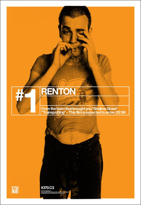 Trainspotting's film poster campaign, 15 years on - Creative Review