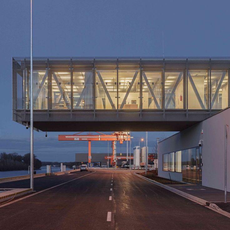 Gallery of Győr-Gönyű National Public Port Control Building / sporaarchitects + Térhálózat - 9