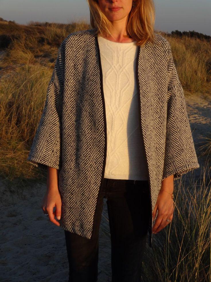 La chronique d'Aurélie //80// Kimono pour les soirs d'été | Lagouagouache