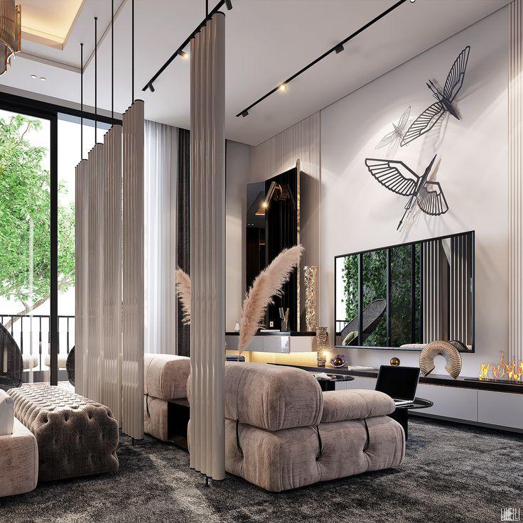 MASTER BEDROOM on Behance in 2021 | Master bedroom ...