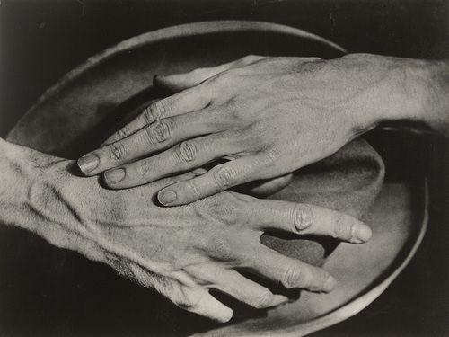 Jean Cocteau's hands.