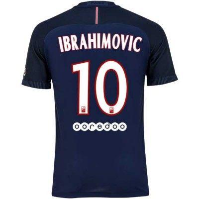 PSG 16-17 Zlatan Ibrahimovic 10 Hjemmebanetrøje Kortærmet.  http://www.fodboldsports.com/psg-16-17-zlatan-ibrahimovic-10-hjemmebanetroje-kortermet.  #fodboldtrøjer