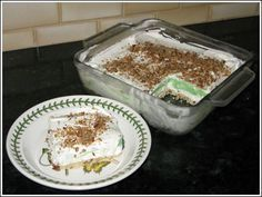 pistachio-pudding-dessert - my grandma always makes this for xmas and it is SO good...