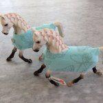 Pferdedecken aus Stoffresten
